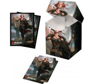 Deck Box + Sleeves Jeska, Thrice-Reborn