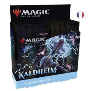 Magic Kaldheim (KHM) : Display - Booster Collector FR (x12)