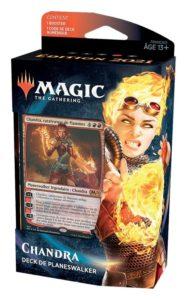 Magic 2021 (M21) : Deck de Planeswalker (Chandra, Garruk, Basri, Liliana, Tefeiri) - Red, Variation Magic