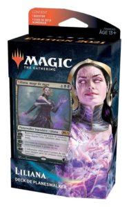 Magic 2021 (M21) : Deck de Planeswalker (Chandra, Garruk, Basri, Liliana, Tefeiri) - Black, Variation Magic