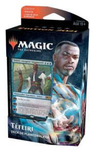 Magic 2021 (M21) : Deck de Planeswalker (Chandra, Garruk, Basri, Liliana, Tefeiri) - Blue, Variation Magic