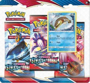 Pokémon - Styles de Combat EB05 : Tripack Embrochet