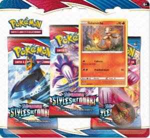 Pokémon - Styles de Combat EB05 : Tripack Salamèche