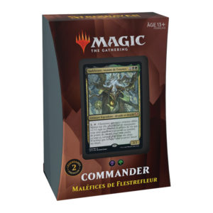 Magic Strixhaven (STX) : Commander Deck FR - Black, Variation Magic