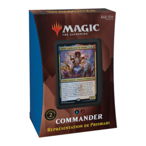 Magic Strixhaven (STX) : Commander Deck FR - Blue, Variation Magic