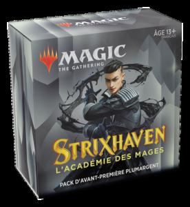 Magic Strixhaven (STX) : Pack d'Avant-Première - Black, Variation Magic