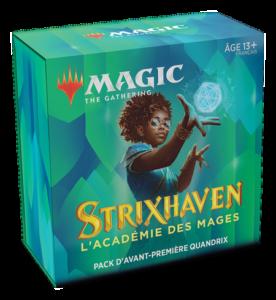 Magic Strixhaven (STX) : Pack d'Avant-Première - Blue, Variation Magic