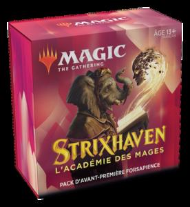 Magic Strixhaven (STX) : Pack d'Avant-Première - White, Variation Magic