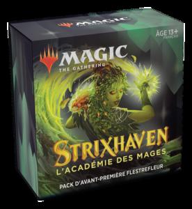 Magic Strixhaven (STX) : Pack d'Avant-Première - Green, Variation Magic