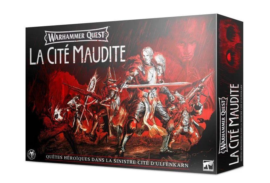 Warhammer Quest Cursed City fr | Jeux Toulon L'Atanière