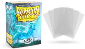 Pochettes Standard x100 Dragon ShieldMatte : Clear