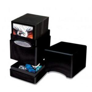 Deck Box 100+ Ultra Pro Satin Tower : Hi Gloss Midnight