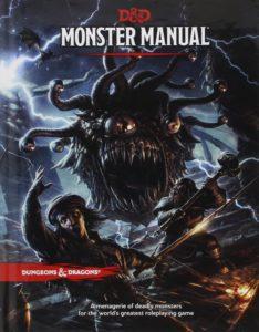 Donjons & Dragons 5 : Monster Manual (DD5)