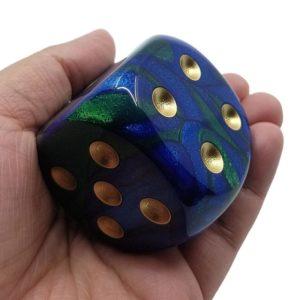 Dés 6 à l'unité: Jumbo Chessex (50mm)