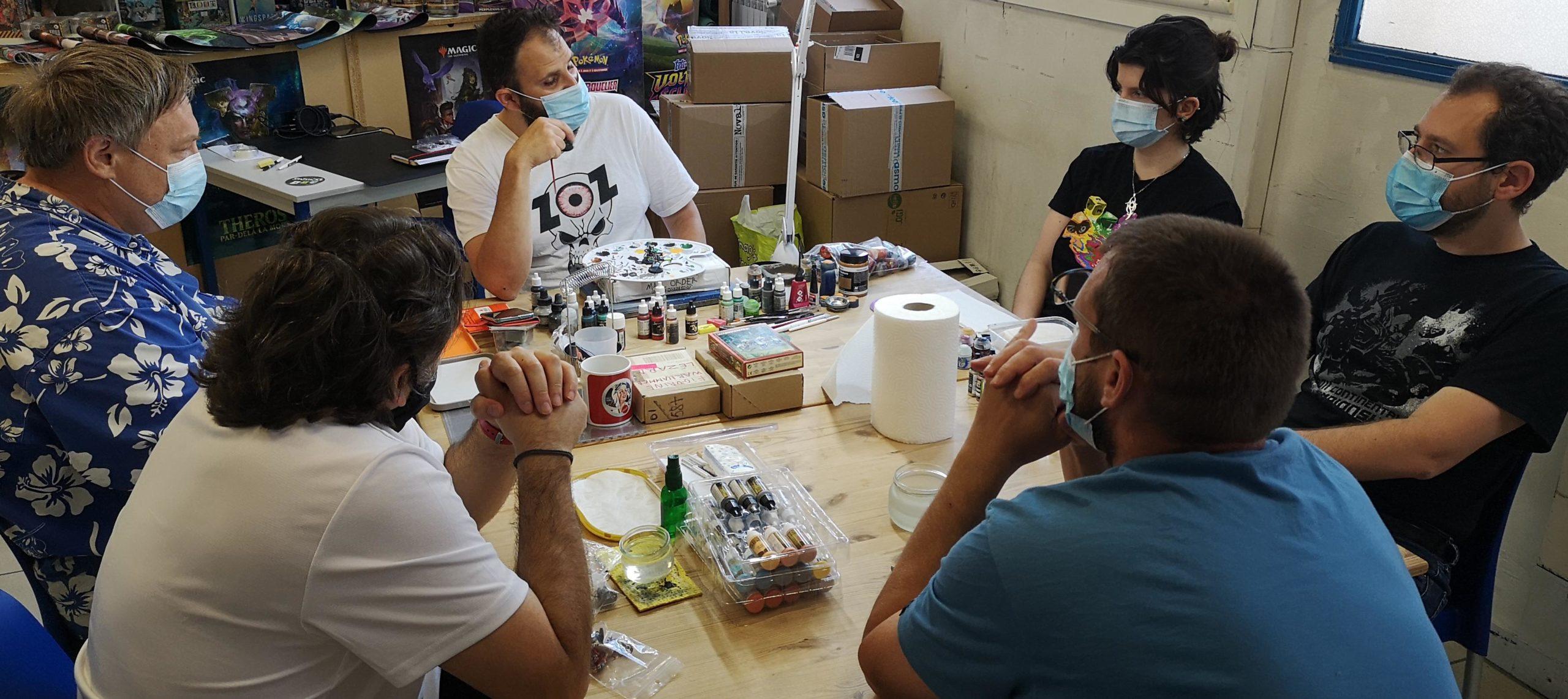 2021.06.05 ZoZ cours de peinture2 Zoran   Jeux Toulon L'Atanière