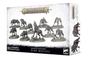Soulblight Gravelords : Dire Wolves