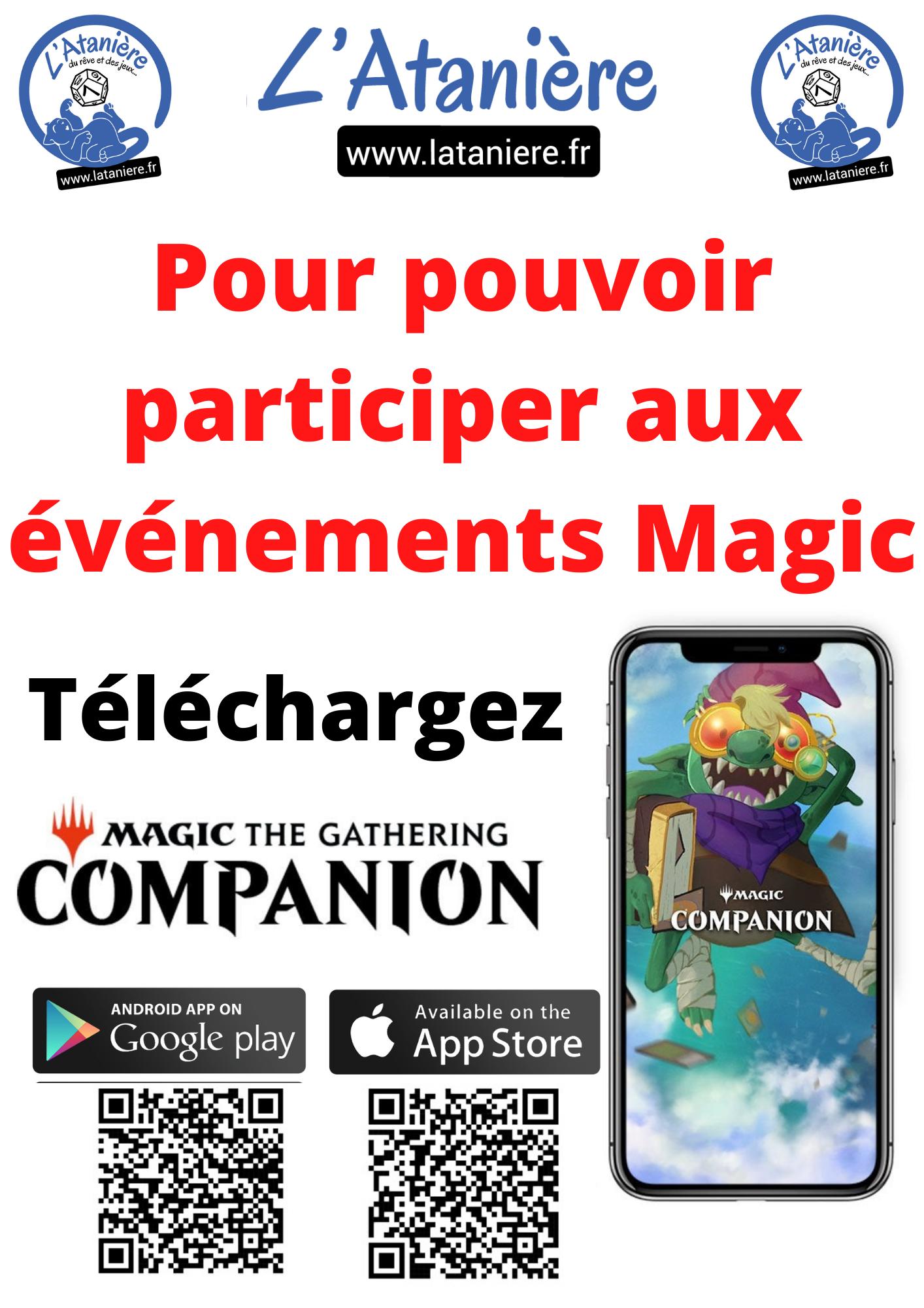 Téléchargez magic companion | Jeux Toulon L'Atanière