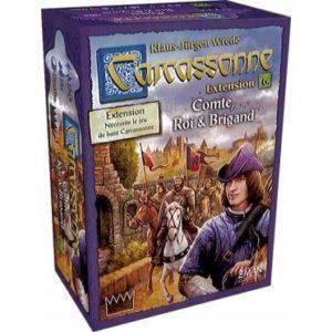 Carcassonne : Comte, Roi et Brigand