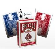 Cartes US (x54) 100% plastique : Bicycle