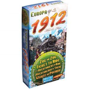 Les Aventuriers du Rail : 1912