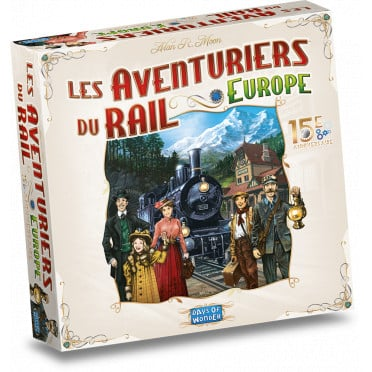 les aventuriers du rail europe 15eme anniversaire 1 jeux Toulon L Ataniere 1.jpg | Jeux Toulon L'Atanière
