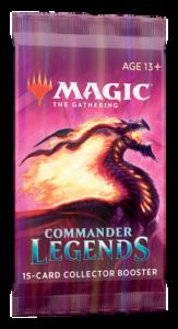 Magic Commander Légendes (CMR) : Booster Collector (FR)
