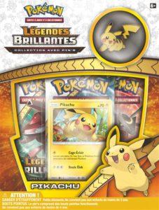 Pokémon Légendes Brillantes SL03.5 : Coffret Pin's Pikachu