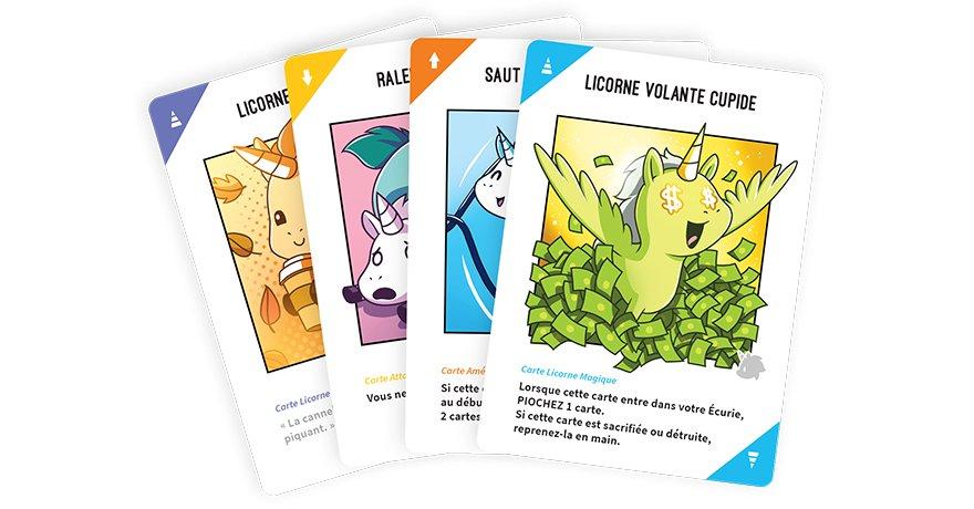 unstable unicorns vf cartes | Jeux Toulon L'Atanière
