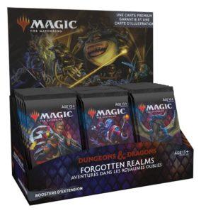 Magic : Forgotten Realms (AFR) - Boite de 30 boosters d'extension (FR)