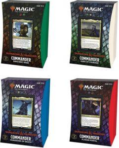 Magic : Forgotten Realms (AFR) - Deck Commander