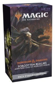Magic : Forgotten Realms (AFR) - Pack d'Avant-Première