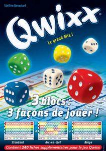 Qwixx : Recharges (3x 80 feuilles)
