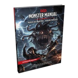 Dungeon & Dragons 5 : Monster Manual FR (DD5)