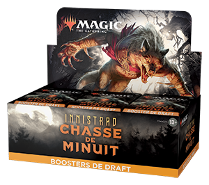 Magic : Innistrad Chasse de Minuit (IMH) : Display de 36 Boosters Draft