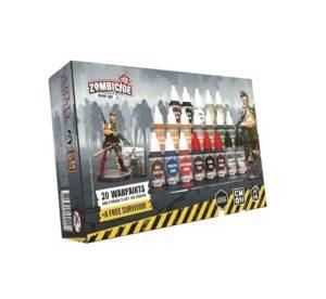 Zombicide : Paint Set 2nd Edition