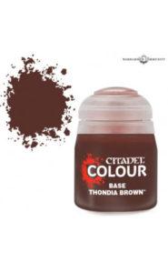Base : Thondia Brown