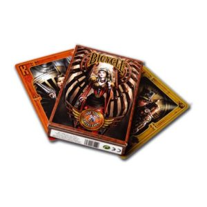 Cartes US x54 cartes Bicycle : Anne Stokes Steampunk