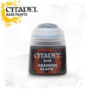 Citadel Base : Abaddon Black