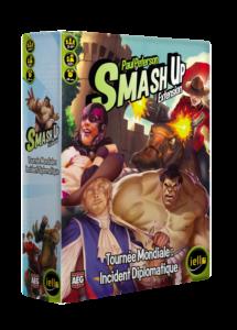 Smash Up : Tournée Mondiale, Incident Diplomatique
