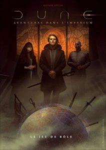 Dune Aventures dans l Imperium couv livre de base Arkhane Asylum Modiphius | Jeux Toulon L'Atanière