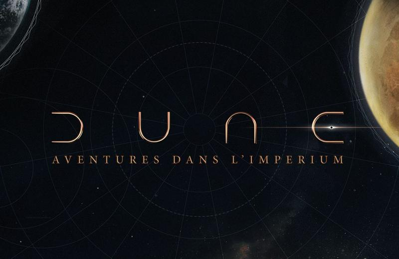 Dune Aventures dans l Imperium titre logotype | Jeux Toulon L'Atanière
