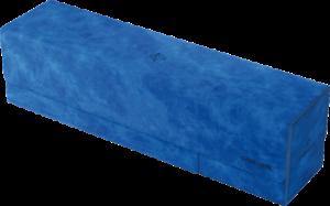 Boîte de rangement Card's Lair 400+ : Velour Bleu