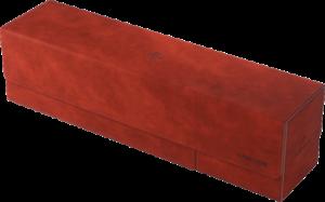 Boîte de rangement Card's Lair 400+ : Velour Rouge