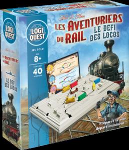 Logiquest : Les Aventuriers du Rail